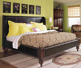 Lane Bedroom Furniture. Bedroom Furniture. Crown It With A Canopy ...